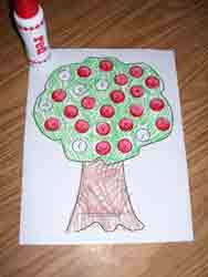 ABC Apple Assessment  activity available at www.makinglearningfun.com.