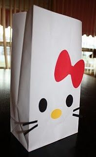 Hello Kitty party favor bags