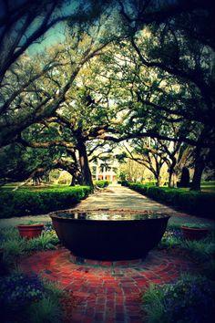 Oak Alley Plantation, Louisiana,