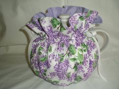 Pretty Lilacs  6 Cup Teapot Cozy by desweeney98072 on Etsy, $12.75
