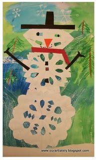 Snowflake Art for Snowflake Bentley