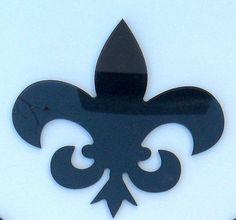 Objectify Fleur de Lis Coasters  Set of 4 by ObjectifyHomeware, $20.00