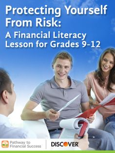 Protecting Yourself From Risk: Lesson about insurance for high school students #pathwaytofinancialsuccess #discover #weareteachers