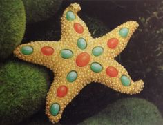 The Patrick starfish brooch by Lorren Bell.