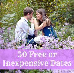 adorable date ideas, cute inexpensive dates, 50 free, marriag, random, night, inexpensive date ideas, hubbi, fun