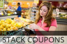 The Basics of Stacking Store and Manufacturer Coupons.  Thanks @Amanda Snelson Kemp !!!