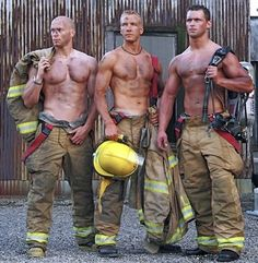 id let my house catch on fire if it meant I could see these men :)