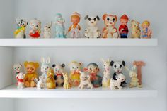 Vintage Squeaky Toy Collection