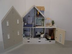 The ultimate Barbie dollhouse.  Handcrafted.