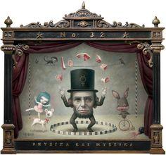 The Ringmaster - Painting, Mark Ryden: