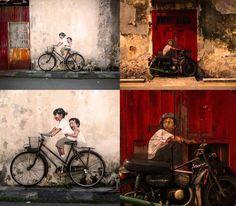 <3 art interativa, urban art, street art, art popular, zacharev locat, malaysia, ernst zacharev, por ernst, engineering