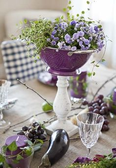 Clever Tablescape