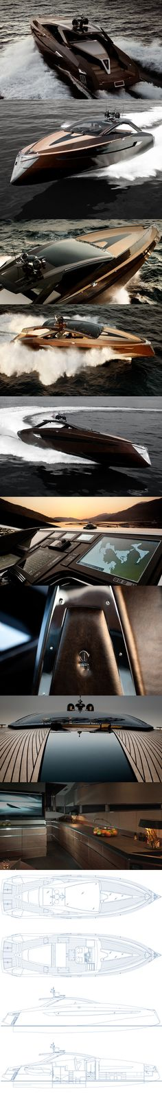 Art of Kinetik Hedonist #Yacht #luxury