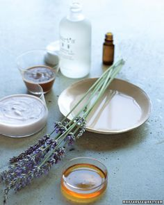DIY Fall Facial {recipe} A soothing and moisturizing facial. An at-home treatment designed by a leading holistic skin-care expert offers the perfect recipe for a healthy glow -- and inner calm including lavender essential oil <3