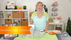 Fiskars: Dimensional Details. Fiskars Fuse Creativity System makes it easy to add texture to embellishments, but Stephenie Hamen shows how t...