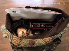 DIY DSLR Camera Bag