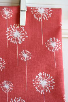 Coral Home Decor Weight Fabric from Premier by sewfinefabric, $11.50