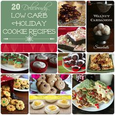 Holiday Low Carb Cookie Recipe Roundup