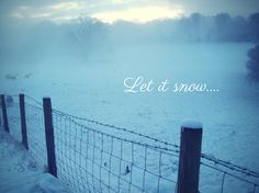 Let it snow!   mummy
