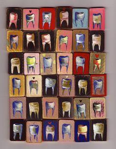 I like these teeth. #teeth #art #painting