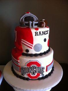 Ohio State Cupcakes | Ohio State Football Cake - Cake Decorating Community - Cakes We Bake