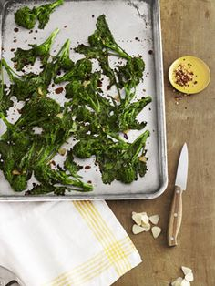 Spicy Balsamic Broccoli Rabe #healthy