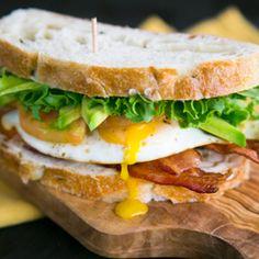 Breakfast BLT Sandwich