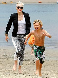 Spotted: Gwen Stefani and her son, Kingston #NewNormal