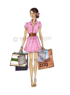 Rose - Fashion Illustration - Brooke Hage