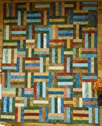 Popsicle stick quilt pattern