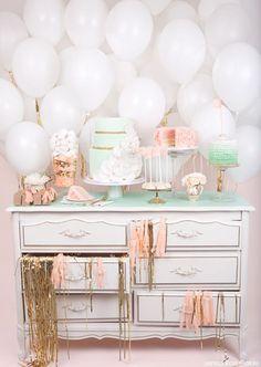 Simple balloon backdrop