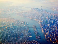 New York from the Air (2012), via Flickr.