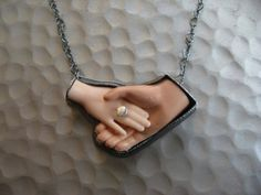 Hand in Hand Necklace by Margaux Lange