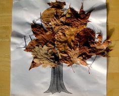 preschool fall crafts idea, fall leaves, autumn leaves, autumn art, leaf crafts, fall trees, kids, preschool fall crafts, kid craft