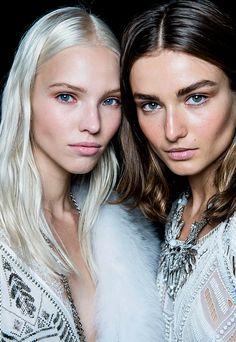 Sasha Luss & Andreea Diaconu //
