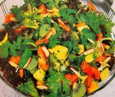 Papercup Kitchen: Avocado and Papaya Salad