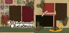Old Fashioned Christmas Page Kit