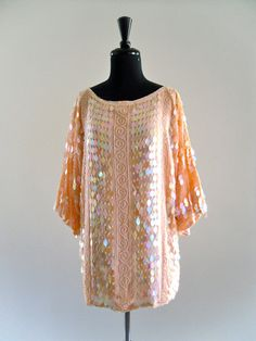 iNDia SiLk SeQuin BeaDed sLouCh gLam EveNing by LuvStonedVintage