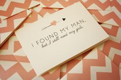 bridesmaid invitations. way too cute#Repin By:Pinterest++ for iPad#