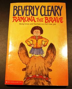 Some classic Beverly Cleary: Ramona the Brave.