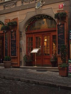 Prague - Looks like a cozy place to eat.
