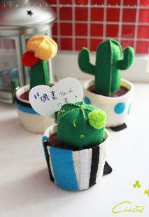 DIY cactus, so doing this