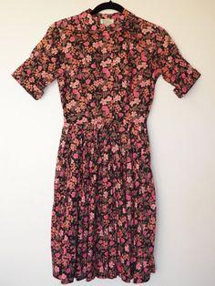 floral prints, liberti print, day dresses