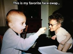 This my favorite face swap.