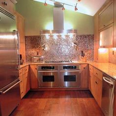 baths, stove, floor, small kitchens, galley kitchens