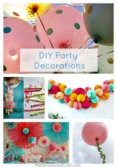 DIY Party Decorations–10 Inspiring Ideas!