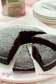 Torta+al+cioccolato+senza+uova,+latte+e+burro+
