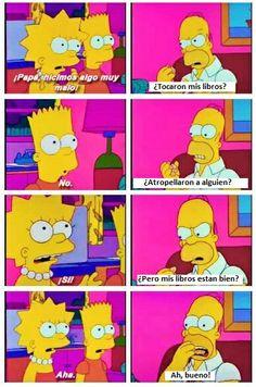 #Libros... Homero sabe!!