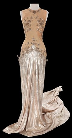 Costume designed by Adrian for Eve Arden in Ziegfeld Girl (1941).