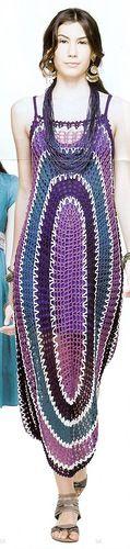 Crochet not-for-everybody dress.